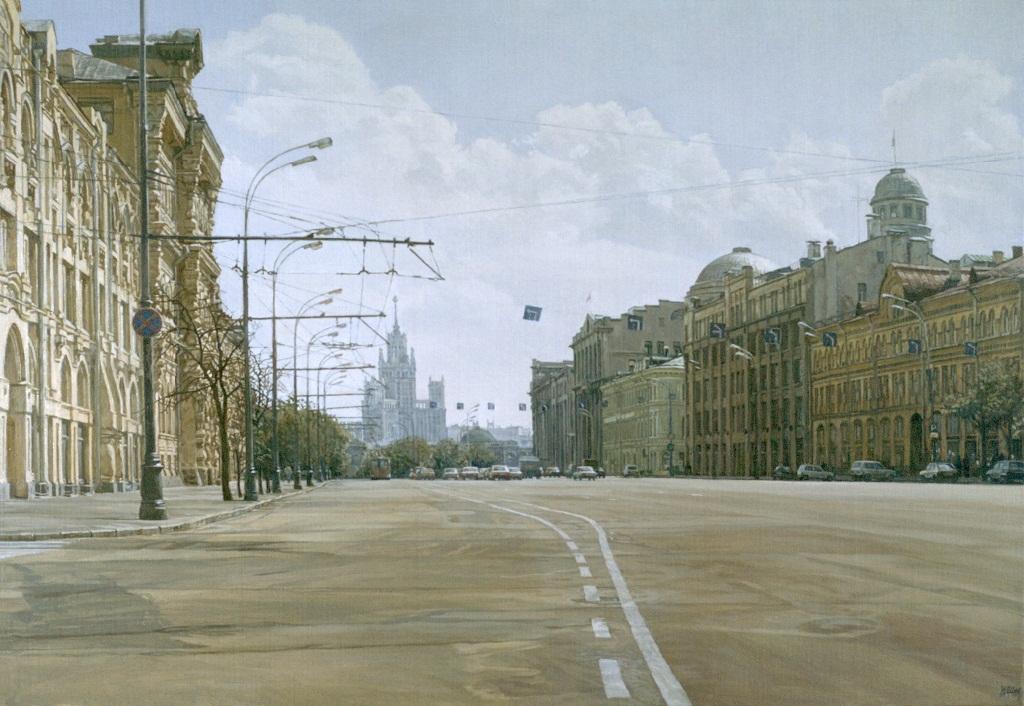 Воскресная Москва. Новая площадь