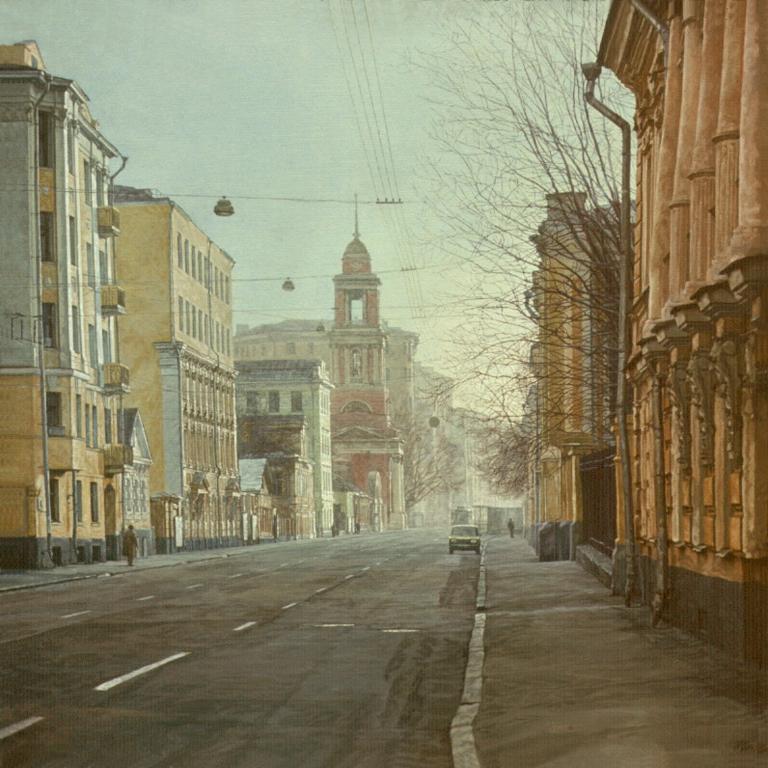 Воскресная Москва. Пятницкая улица