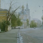 Воскресная Москва. Старая Басманная улица
