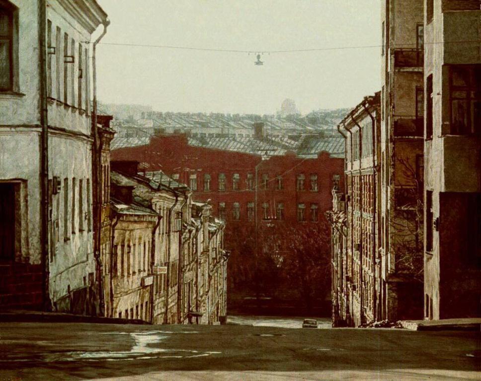 Воскресная Москва. Третий Неглинный переулок