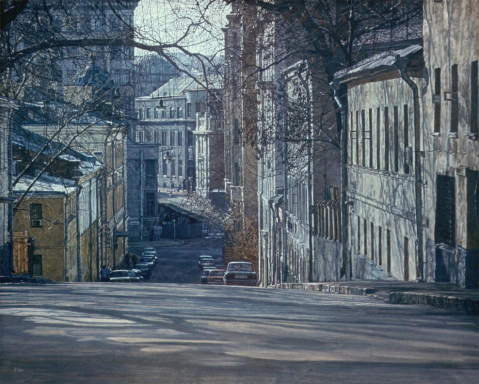 Воскресная Москва. Второй Неглинный переулок
